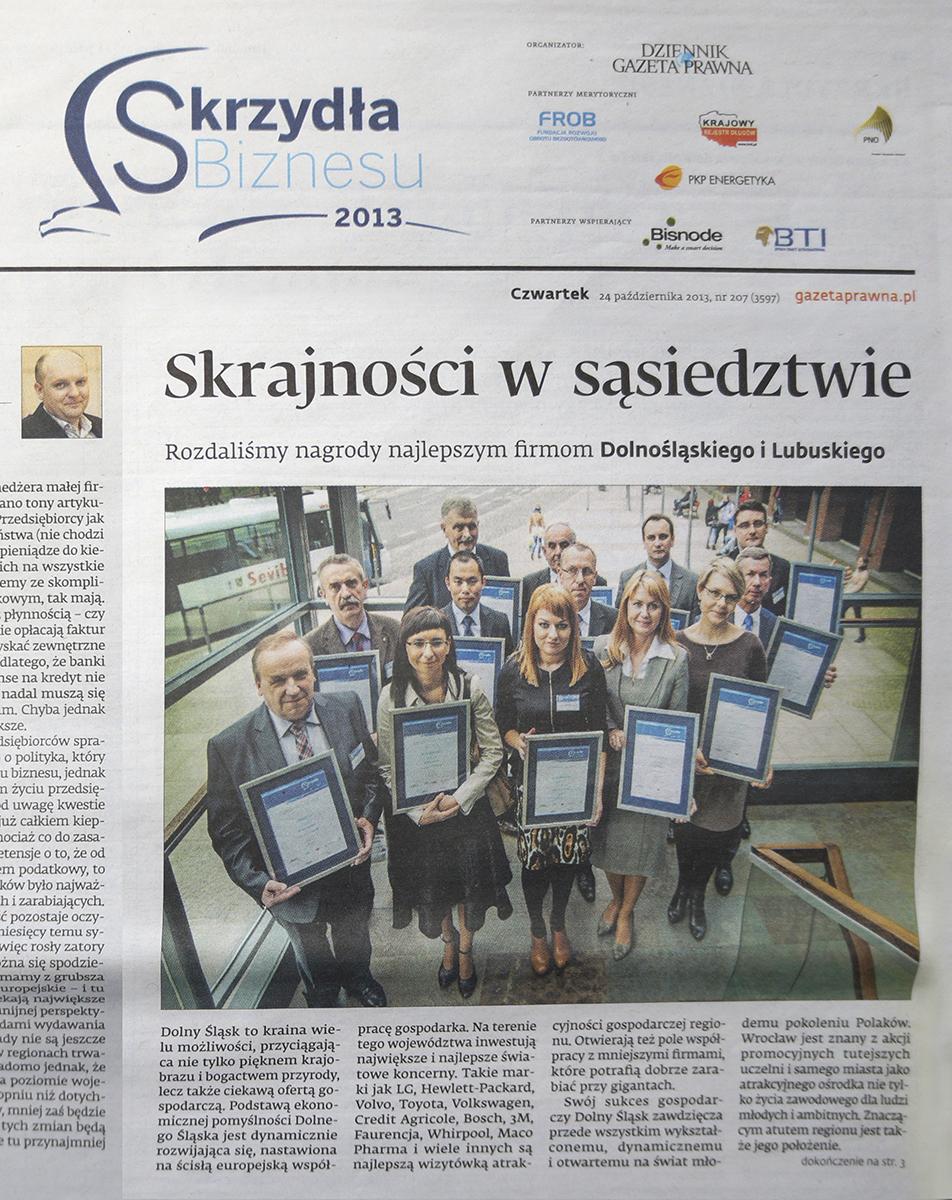 Dziennik Gazeta Prawna 24.10.2013