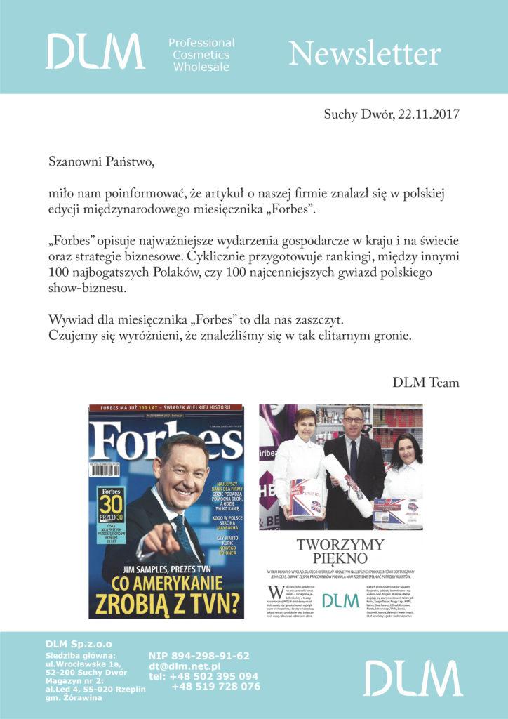 Artykuł w Forbes