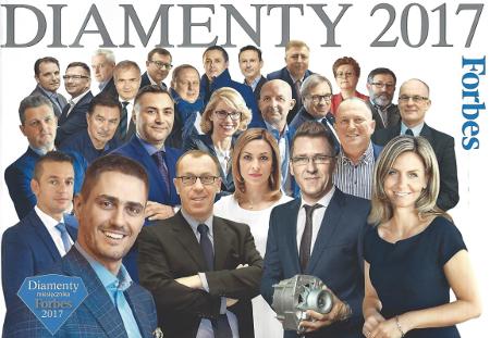 Forbes - Diamenty 2017